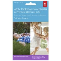 Adobe Premiere Elements 18 & Adobe Photoshop Elements 18 for Mac or Windows
