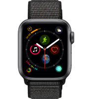 Watch S4 GPS Aluminium 40MM Space Grey- Black Loop