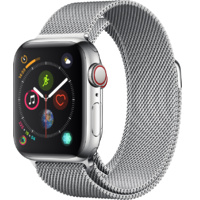 Watch S4 GPS + Cell S. Steel 40MM –Silver Milanese Loop