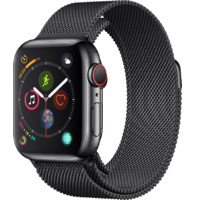 Watch S4 GPS + Cell S. Steel 40MM Sp Blk-Milanese Loop