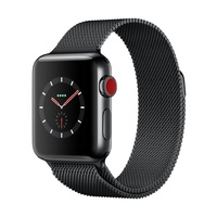 Watch S3 GPS + Cell S. Steel 42MM Sp Blk- Milanese Loop
