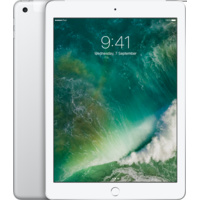 iPad 5th Generation 128GB Wi-Fi + Cellular (Silver)