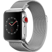 Apple Watch Series 3 GPS + Cellular Stainless Steel 42MM