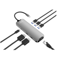 Blupeak USB-C to Multiport Adapter